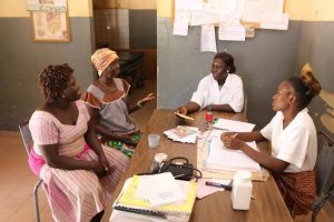 On the front line of health care in Burkina Faso